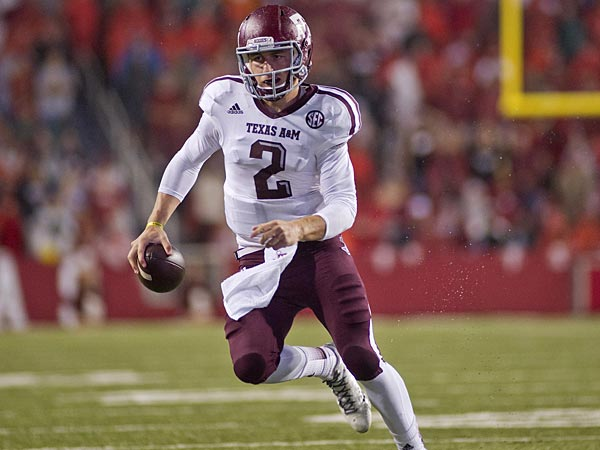 Texas A&M quarterback Johnny Manziel. (Beth Hall/AP)