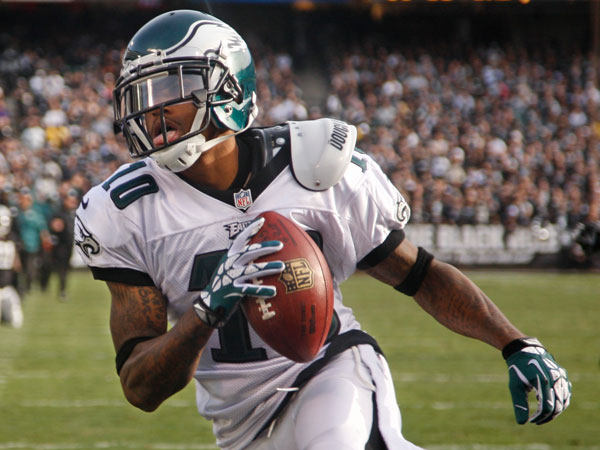 Eagles wide receiver DeSean Jackson. (Ron Cortes/Staff Photographer)