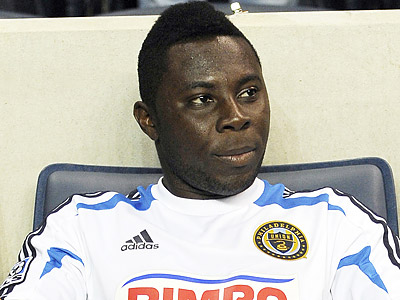 Freddy Adu says he thought as a 14-year-old that the decision to turn pro was right, but he now realizes it happened too early. (AP file photo)