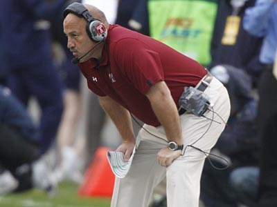 Temple head football coach Steve Addazio. (Keith Srakocic/AP)