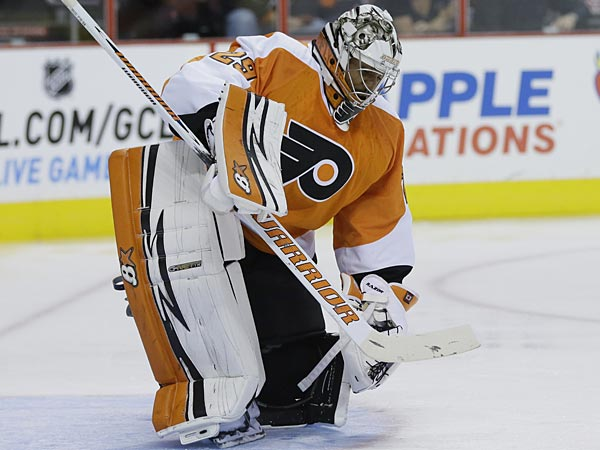 Flyers goalie Ray Emery. (Matt Slocum/AP)
