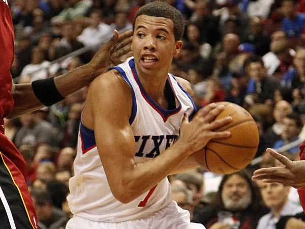 Sixers rookie point guard Michael Carter-Williams. (Ron Cortes/Staff Photographer)