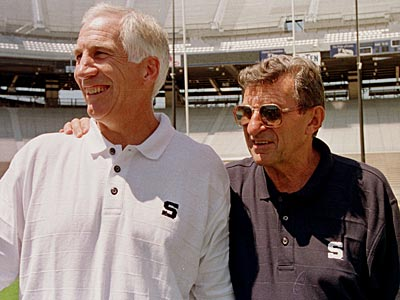Jerry Sandusky retired more than a decade ago after 32 years under coach Joe Paterno. (Paul Vathis/AP file photo)