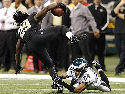 Paul Domowitch: Saints run over Eagles' 'D'