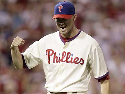 Phillies reliever Ryan Madson will become a free agent after the 2009 season. (Yong Kim / File photo)