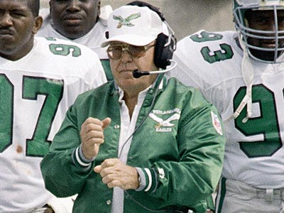 "Buddy Ryan coached the Eagles in the ""Bounty Bowl"" during the 1989 season. (Mark Elias/AP file photo)"