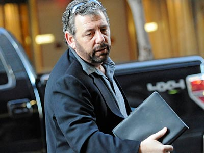 NBA owners, like the Knicks´ James Dolan (above), held an internal meeting on Saturday morning. (Louis Lanzano/AP)