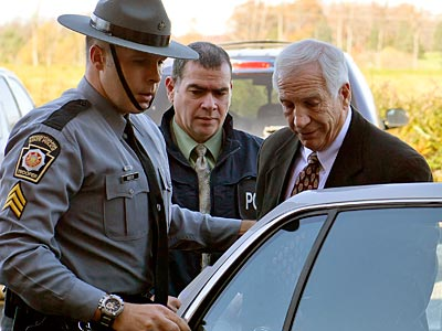 Jerry Sandusky is the centerpiece of a child sex abuse scandal at Penn State. (Andy Colwell/The Patriot-News/AP)