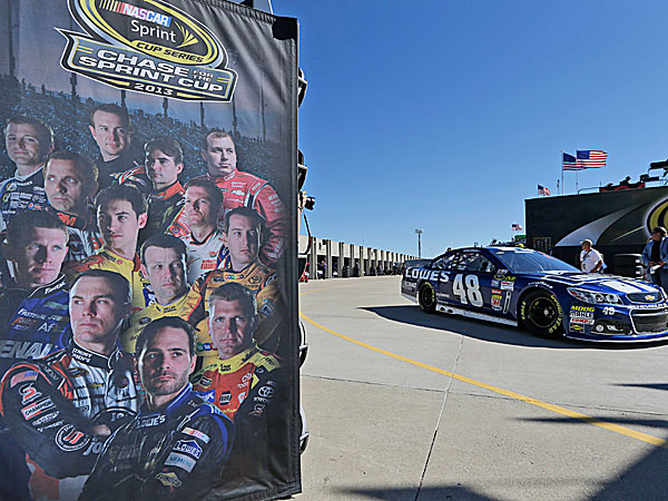 NASCAR driver Jimmie Johnson. (Tim Sharp/AP)