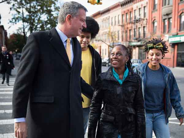 Bill DeBlasio. (AP Photo)