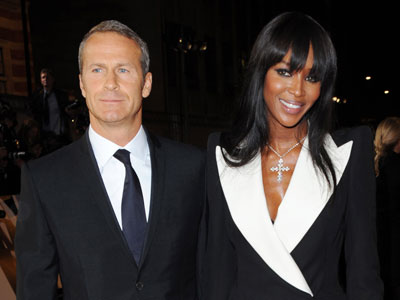 Naomi Campbell and ex, Vladimir Doronin. (AP Photo)