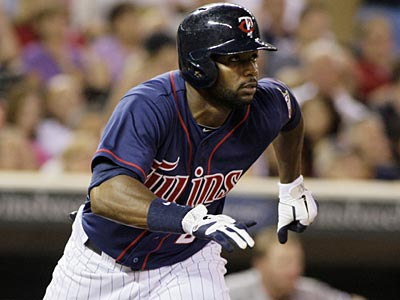Twins outfielder Denard Span might be a player who would appeal to the Phillies in a trade. (AP Photo/Paul Battaglia)