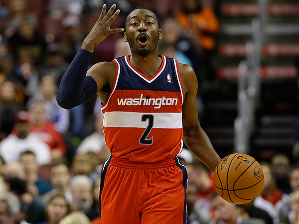 Washington Wizards star John Wall. (Matt Slocum/AP)