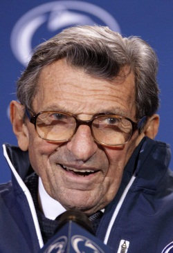 Penn State head coach Joe Paterno should have taken charge and made sure the allegations about Jerry Sandusky were reported (GENE J. PUSKAR / Associated Press)