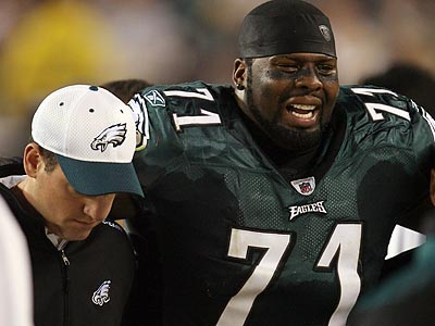 Eagles offensive tackle Jason Peters is listed as questionable for Sunday´s game against the Chargers. (Yong Kim/Staff Photographer)