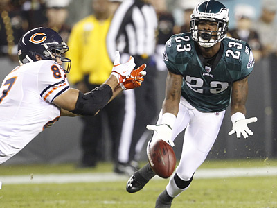 Eagles cornerback Dominique Rodgers-Cromartie had a tough night against the Bears. (Ron Cortes / Staff Photographer)