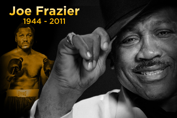 Hall of Fame boxer Joe Frazier died Monday at the age of 67. (Photo illustration by Joshua Cohen / Philly.com)