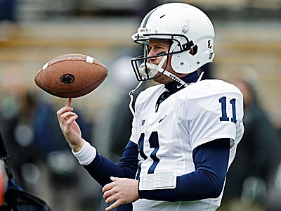 "Matt McGloin said, ""I´m just focusing on who we´re playing and how to approach the game and how to get my mind ready for it."" (Darron Cummings/AP)"