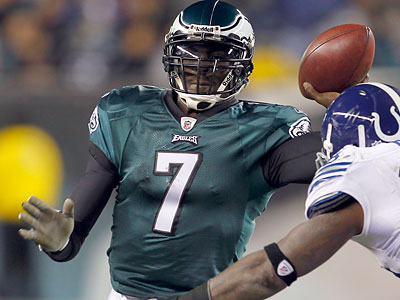 Where will Michael Vick be playing football next season? (Yong Kim/Staff Photographer)