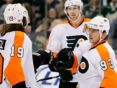 The deal could mean more nationally televised games for the Flyers. (AP Photo/Andy King)