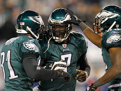 Michael Vick has been named the NFC player of the week. (Yong Kim / Staff Photographer)
