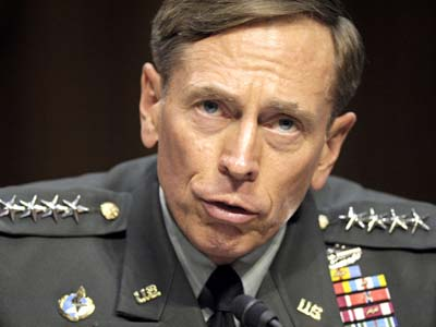 In this June 23, 2011 file photo, then-CIA Director-desigate Gen. David Petraeus testifies on Capitol Hill in Washington. Petraeus has resigned because of an extramarital affair.  (AP Photo/Cliff Owen, File)