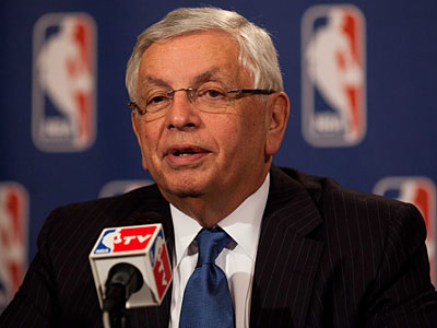 NBA commissioner David Stern said the 2011-12 season is expected to start on Christmas Day. (John Minchillo/AP Photo)