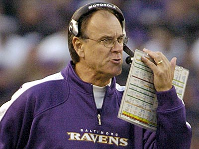 Brian Billick has a comfy TV gig and hasn´t coached in years. (Steve Ruark/AP file photo)