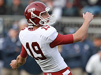 Temple placekicker and punter Brandon McManus received College Football Performance Awards honorable-mention honors on Sunday. (David Swanson/Staff Photographer)
