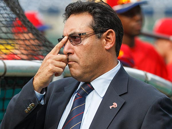 Phillies general manager Ruben Amaro Jr. (Christopher Szagola/AP file photo)