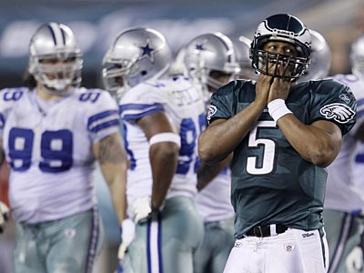 Can Donovan McNabb and the Eagles bounce back Sunday against the Chargers? (AP Photo/Matt Slocum)