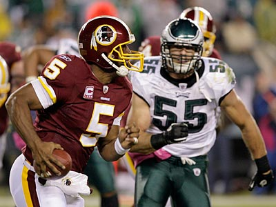 The Eagles failed to stop the Redskins late in the game in week 4. (Yong Kim/Staff file photo)