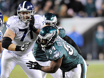 Eagles defensive end Brandon Graham recorded only three sacks during his rookie season. (Clem Murray/Staff file photo)