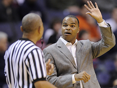Tommy Amaker is in his fifth season as the head coach of Harvard´s men´s basketball team. (Nick Wass/AP file photo)