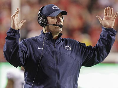 Penn State head football coach Bill O´Brien. (Nati Harnik/AP)