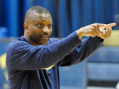 Drexel head coach Bruiser Flint. (Ron Tarver/Staff Photographer)