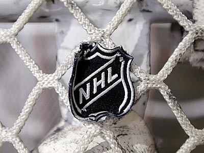 NHL logo. (Mark Humphrey/AP)