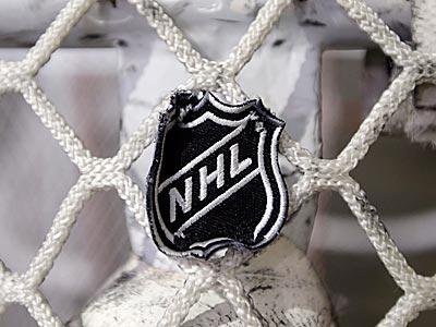 NHL logo. (Mark Humphrey/AP)