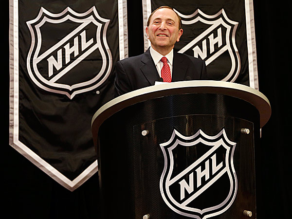 NHL commissioner Gary Bettman. (Frank Franklin II/AP)