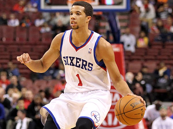 Sixers´ Michael Carter-Williams  ( Yong Kim / Staff Photographer ).