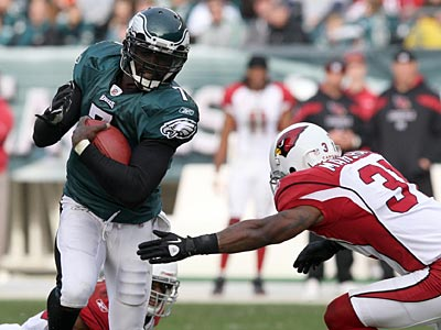 Michael Vick says he will make more of an effort to protect himself. (Yong Kim/Staff Photographer)