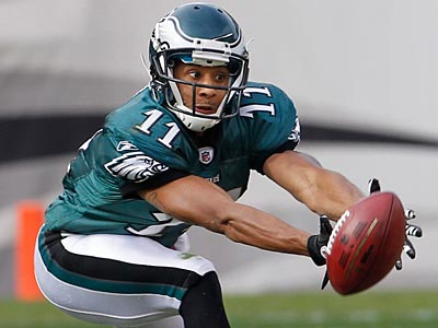 The Eagles have placed wide receiver Steve Smith on injured reserve. (Ron Cortes/Staff File Photo)
