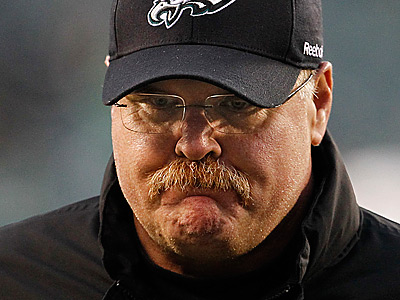 Andy Reid and the Eagles fell to 3-6 with Sunday´s loss to the Cardinals. (Ron Cortes/Staff Photographer)
