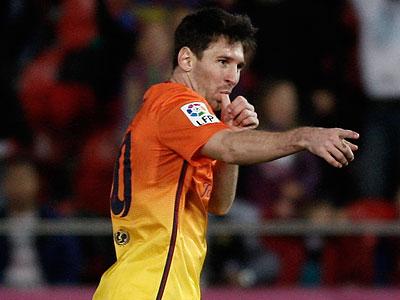 Lionel Messi. (Tolo Ramon/AP)
