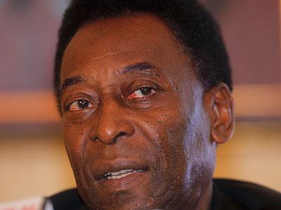 Pelé. (Vincent Yu/AP file photo)