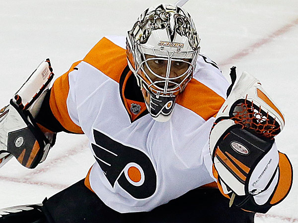 Flyers goalie Ray Emery. (Gene J. Puskar/AP)