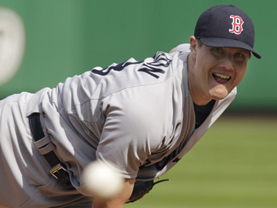 The Phillies gave former Red Sox closer Jonathan Papelbon a four-year contract. (AP Photo/Gene J. Puskar)
