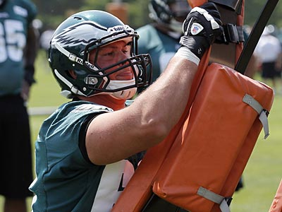 Philadelphia Eagles guard Danny Watkins. (Alex Brandon/AP)