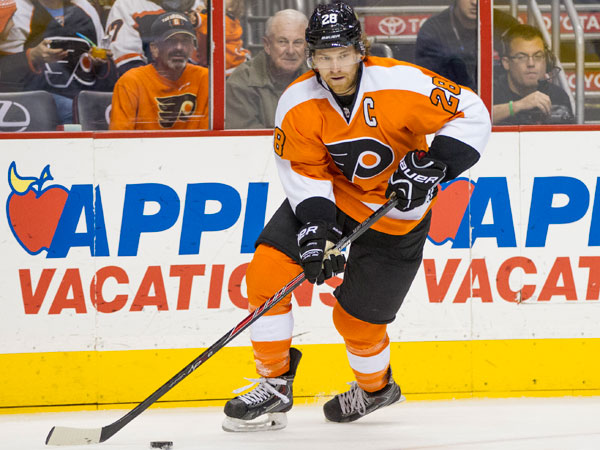 Flyers captain Claude Giroux. (Chris Szagola/AP)