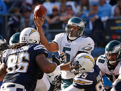 The Eagles´ offense could not get the job done in the red zone against the Chargers. (Ron Cortes/Staff Photographer)